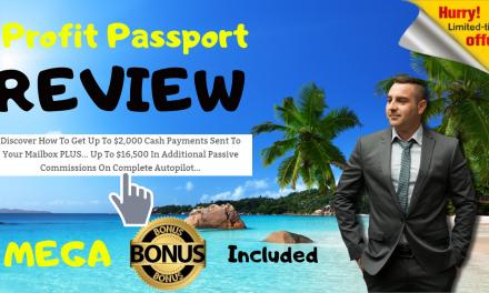 PROFITS PASSPORT – 1 FUNNEL 6 INCOME STREAMS